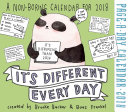 It s Different Every Day Page A Day Calendar 2018