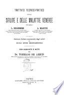 Trattato teorico pratico della sifilide e delle malattie veneree pei dottori L  Belhomme  A  Martin