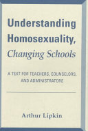 Understanding Homosexuality  Changing Schools