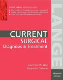 Current Surgical Diagnosis   Treatment
