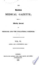 London Medical Gazette