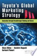 toyota s global marketing strategy
