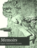 Memoir of the Egypt Exploration Society