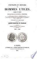 Portraits et histoire des hommes utiles, hommes et femmes de tous pays et de toutes conditions