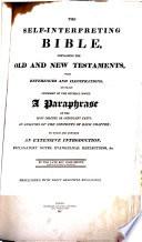 The Self Interpreting Bible By The Late Revd John Brown Etc