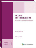 Income Tax Regulations  Winter 2017 Edition   December 2016