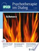 Psychotherapie im Dialog - Schmerz