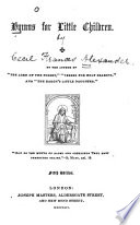 Hymns for little children