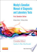 Mosby S Canadian Manual Of Diagnostic And Laboratory Tests E Book