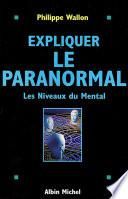 Expliquer le paranormal