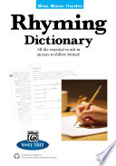 Mini Music Guides: Rhyming Dictionary : music guides provide essential information in...
