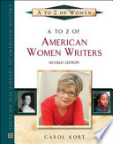 A to Z of American Women Writers