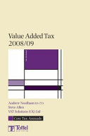 Value Added Tax 2008 09