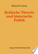 Kritische Theorie und historische Politik