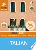 Rough Guide Audio Phrasebook and Dictionary   Italian