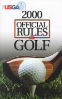 Official Rules of Golf 2000