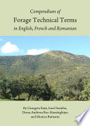 Compendium of Forage Technical Terms in English  French and Romanian