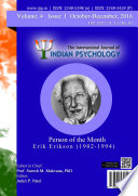 The International Journal of Indian Psychology  Volume 3  Issue 4  No  82