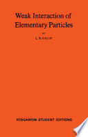 Weak Interaction of Elementary Particles