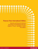 Introduction To Statistics And Research Methods Pearson New International Edition