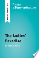 The Ladies  Paradise by   mile Zola  Book Analysis