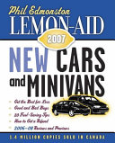 Lemon Aid New Cars And Minivans