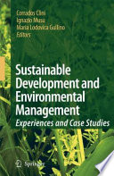 Ebook Sustainable Development and Environmental Management Epub Corrado Clini,Ignazio Musu,Maria Lodovica Gullino Apps Read Mobile