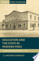Education and the State in Modern Peru