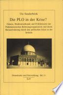 Die PLO in der Krise