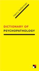 Dictionary of Psychopathology