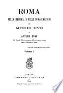 Roma nella memoria e nelle immaginazioni del medio evo