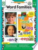 Word Families, Grades 1 - 2