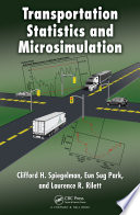 Transportation Statistics And Microsimulation