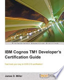 Ibm Cognos Tm1 Developer S Certification Guide