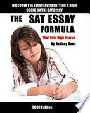 The Sat Essay Formula