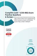 Comptia Cysa Cs0 002 Exam Practice Questions Dumps