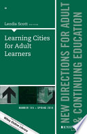 Learning Cities for Adult Learners