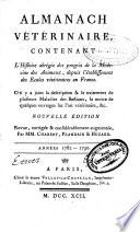 Instructions et observations sur les maladies des animaux domestiques...: Années 1782-1790