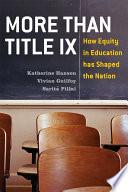 More Than Title IX