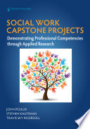 Social Work Capstone Projects