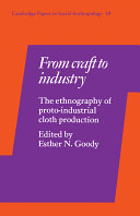 From Craft to Industry