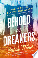Behold the Dreamers  An Oprah   s Book Club pick