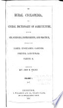 The Rural Cyclopedia : ...