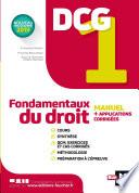 Dcg 1 Fondamentaux Du Droit Manuel Et Applications