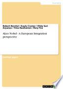 Akzo Nobel   A European Integration perspective
