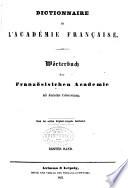 Dictionnaire de l Acad  mie Francaise