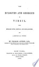 The Eclogues And Georgics Of Virgil : ...