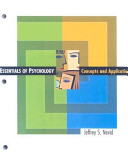 Essential Psychology Looseleaf Custom Publication