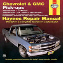 Chevrolet and GMC Pick Ups  1988 2000