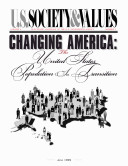 Book Changing America: The United States Population in Transition
